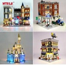 MTELE Luce Kit SOLO Per Creator Compatibile With10182/10224/10211/10260/10243/10246/10218/71040/10251/10264/10255/10232