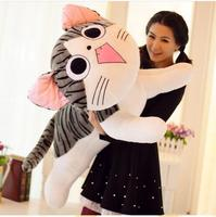 80cm chi`s sweet home cheese cat pillow plush toys sweet cat stuffed cat pillow cushion for leaning