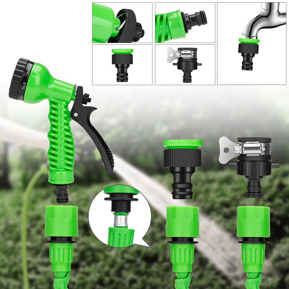 Image 4 - 25 10FT Flexible Garden Water Guns Garden Hose Pipe Multi  Function High Pressure Spray Nozzle Collapsible Hose for Garden Car-in Garden Water Guns from Home & Garden
