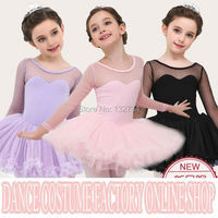 HIGH QUALIT 2016 Kids Girls Christmas Gift Dotted Birthday Fancy Party Princess Cosplay Costume Leotard
