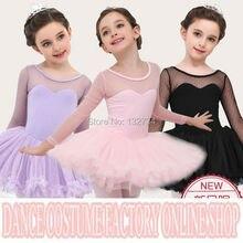 Kids dancewear dance Tulle Dress Suspender Girl Ballet Dress Gymnastics Dress, Ballet tutus. girl dance dress