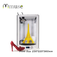 Jennyprinter Z360 Fast Prototyping Heatbed Big 3D Printer Machine with 230*225*360mm Build Size
