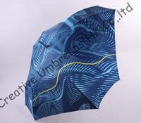 Straight aluminum square umbrellas.14mm blue aluminum/alloy shaft and fiberglass ribs,auto open,water wave design,honeycomb