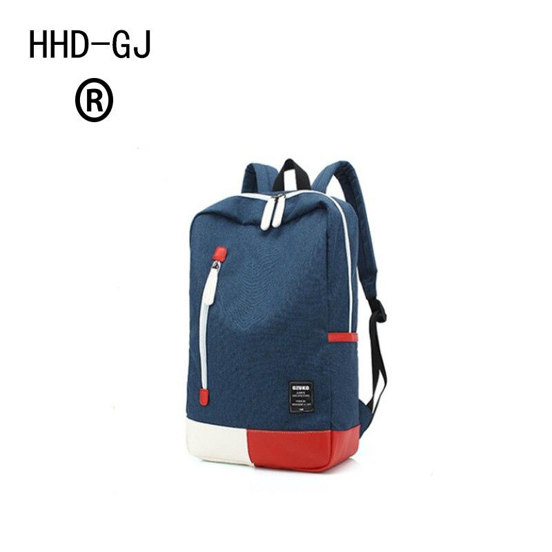 HHD-GJ Men Laptop Backpack For 15.6 inch Backpacks Computer Laptop Bags Male Gray Daypack Women Mochila