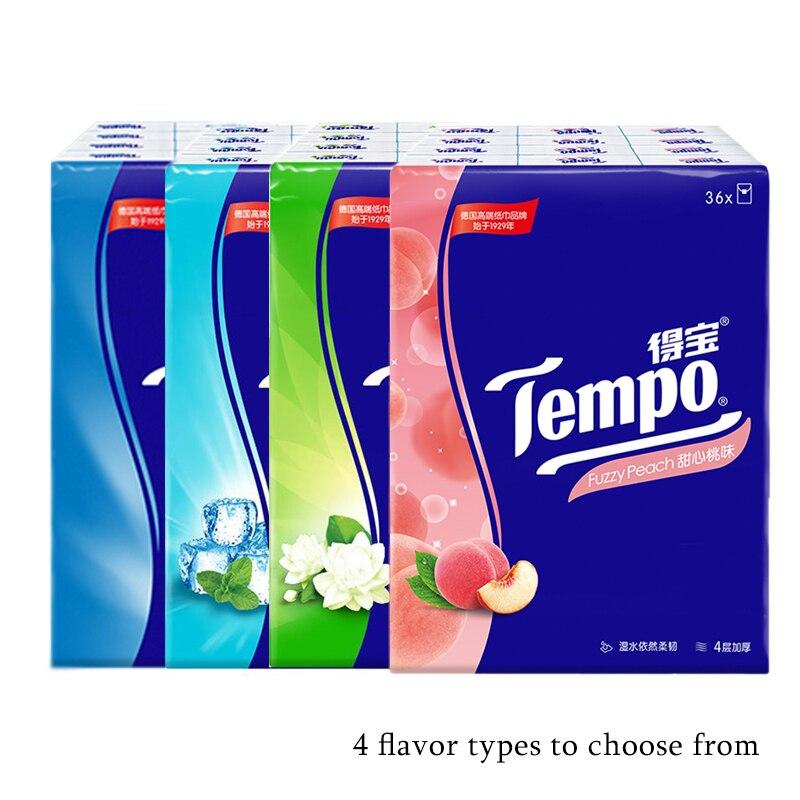 Tempo Pocket Tissues X 36pcs NEUTRAL Petit