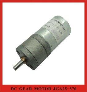 3pcs/Lot! ASLONG JGA25-370 6V 12V 24V DC Planet Gearbox Motor for Intelligent Robot Car