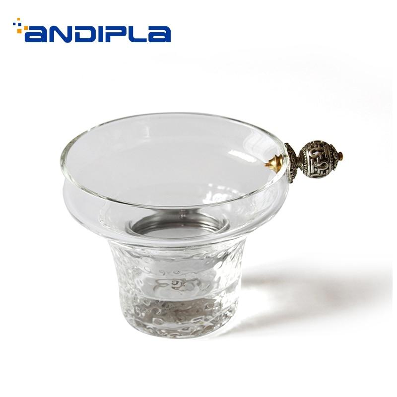 Japanese style Creative Handmade Heat Resistant Transparent Glass Tea Strainers Chinese Kung Fu Tea Accessories Filter Tea Leaks
