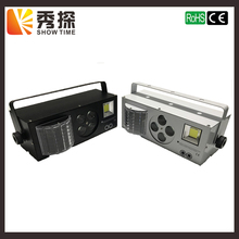 SHOW TIME New arrival LED 4 in 1 Gobo laser strobe stage effect color light Professional