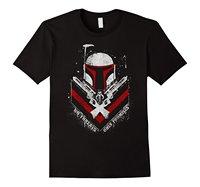 Star Wars Boba Fett Pas de Menaces Que Des Promesses Graphique T-Shirt 2018 Nouvelle Arrivée Hommes De Mode Top T Col Rond Fou T-Shirt