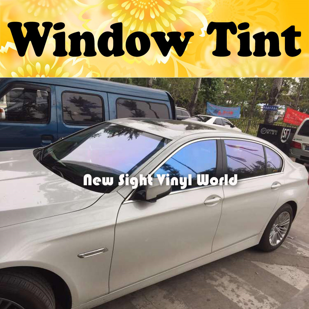 VLT 62% Premium Chameleon Window Tint Film Solar Film Chameleon Window Solar Tint For Auto Window Size:1.52*30m/Roll