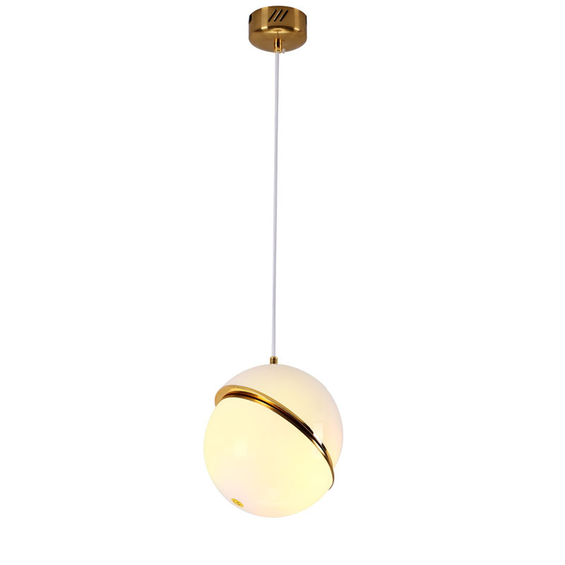 Post-modern Lee Broom Mini Crescent Designer Pendant Light For Living Room Dining Room Dia 20/30/40cm Acrylic Iron Lamp 1416 ...