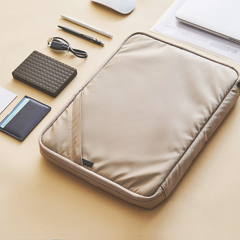 Handheld Document Bag 13 Inch Men's Briefcases Ipad  Electronic Data Line Organizer Case Office Pouch Women's Travel Accessories
