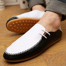 Fashion Men Shoes Man Shoes Men Flats Casual Shoes Low Mens Casual Oxford Slip On Shoe Mocassins Soft Loafers For Men P81