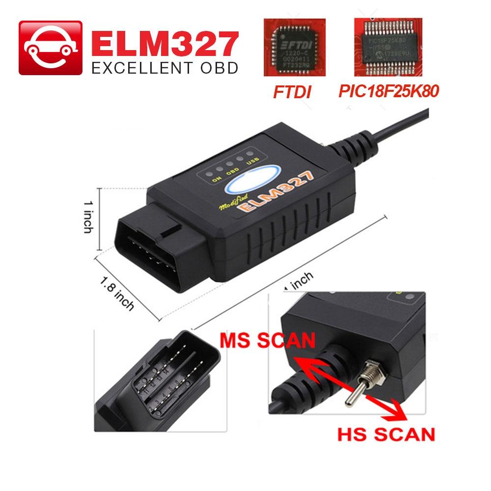 Hot Sale] ELS27 FORScan OBD OBD2 Scanner Car Diagnostic Tool