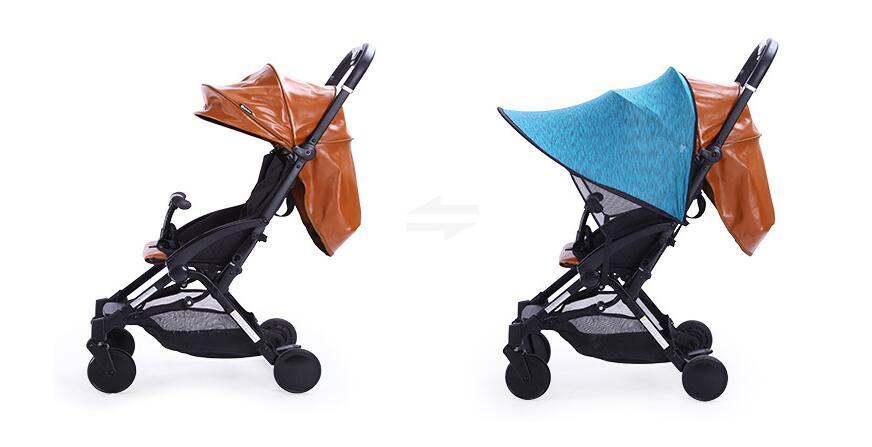 Saulėlydžio vaikiškų vežimėlių tentai Rag Shade Blocks 99% UV - Vaikų veikla ir įranga - Nuotrauka 5