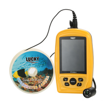 LUCKY FF3308-8 Fish Finder 420TV Underwater Fishing Inspection Camera System CMD Sensor 3.5IN TFT RGB Monitor Fish Sea 20M Cable
