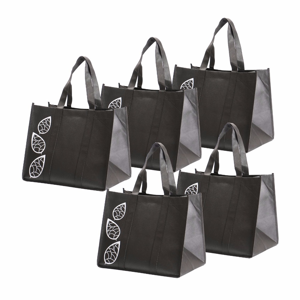 Customize bag Promotioanal Reusable Grocery Tote Bags with Reinforced Handles