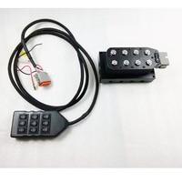 Один набор professional Универсальный пневматическая подвеска системы давление переключающий клапан управление панель контакт линии air управле