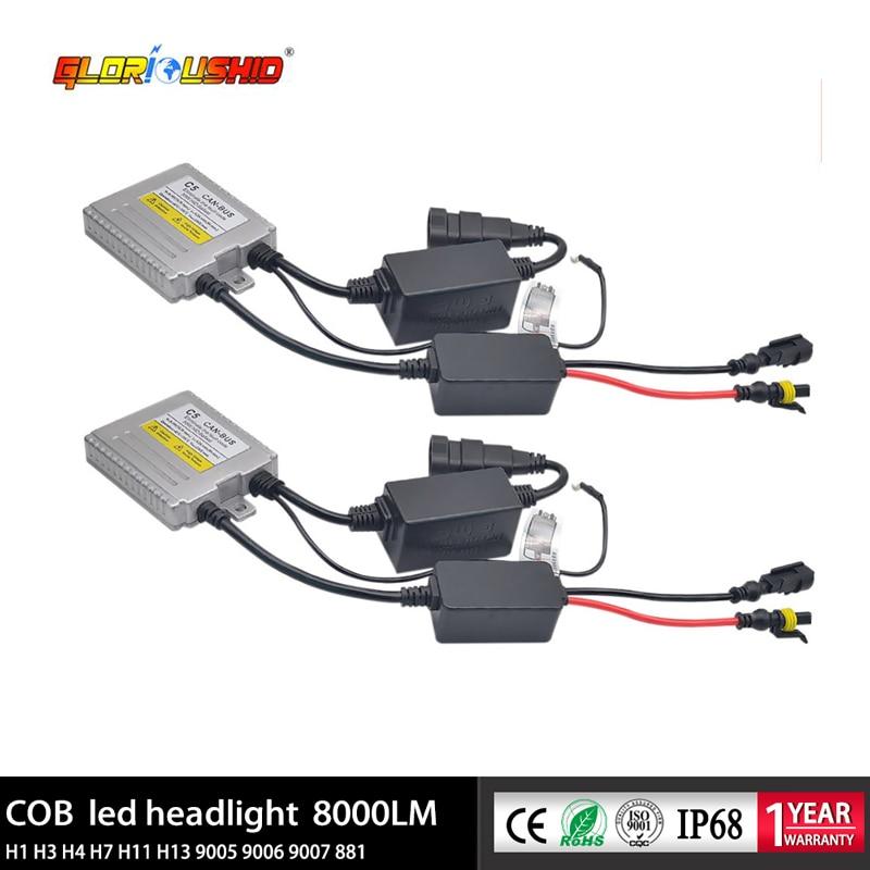 US $35 52 26% OFF|2Pcs AC 55W Xenon Ballast Canbus Error Free HID ballast  For Car Headlight bulb H7 H4 H11 H1 H3 9005 9006 881-in Car Light