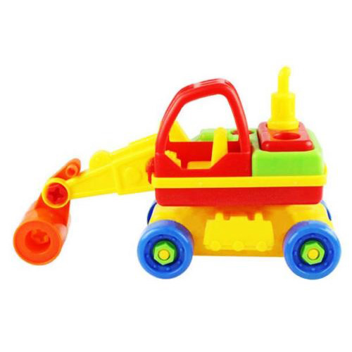 Child Baby Disassembly Assembly Cartoon Car Toy Kids Xmas Gift New Model:Roller