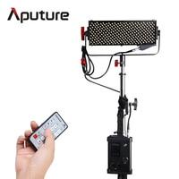Aputure Новый светодиодный видео лампочка шторм LS 1/2 Вт CRI95 + 264 SMD витые бусины светодиодный прожектор с V mount контроллер Box
