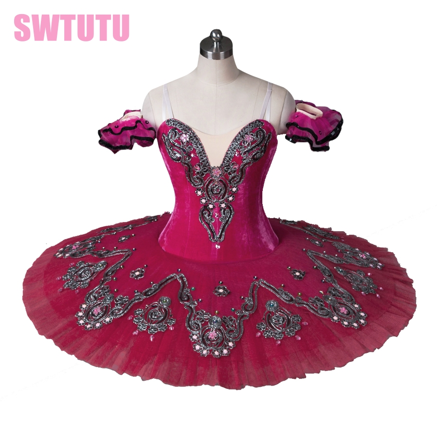 free-shipping-rose-red-swan-lake-font-b-ballet-b-font-costumesprofessional-classical-font-b-ballet-b-font-tutus-for-girls-performing-dance-costumes-bt8992