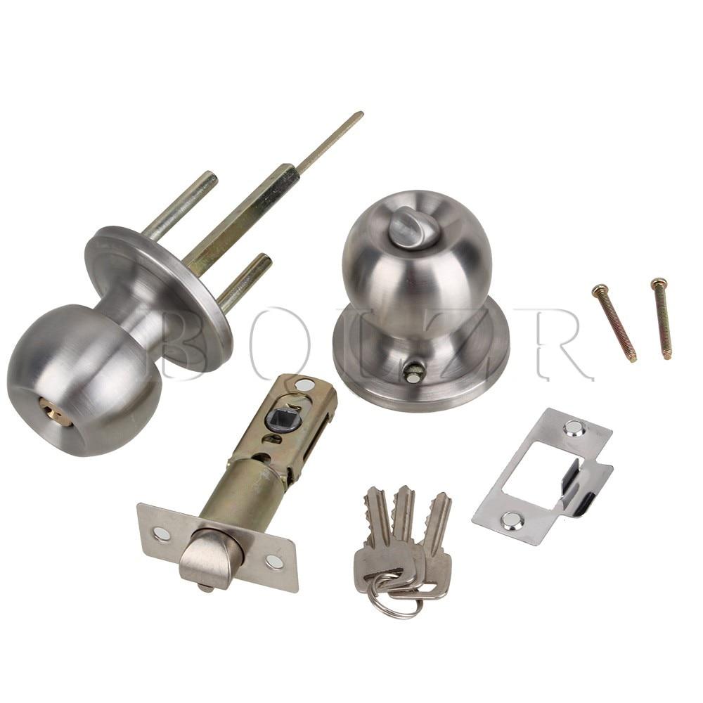 BQLZR Stainless Steel Round Ball Door Knobs Handles Passage ...