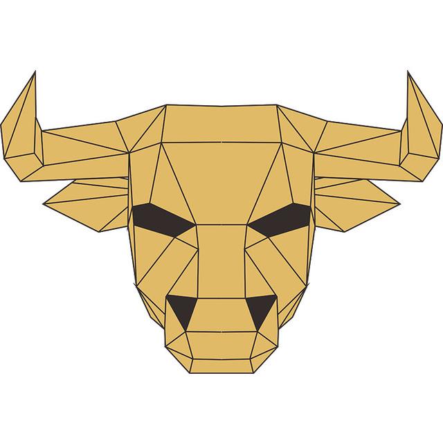 Le Taureau – Paper Mask 3D Creative