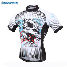 XINTOWN Team Men's Sportswear Cycling Jersey Ropa Ciclismo Bike Bicycle Short Sleeve Cycling Clothing Top