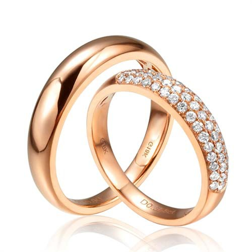 Free Shipping 100 18k Solid Gold Rings Engagement Or Wedding Ring For Jewelry