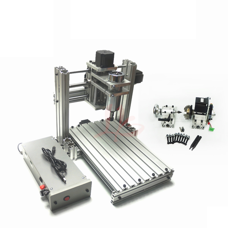 4axis DIY 4020 metal engraver machine Wood Router CNC Milling Machine
