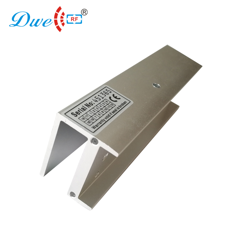 купить DWE CC RF Security door access control lock holder U bracket for framelss glass door онлайн