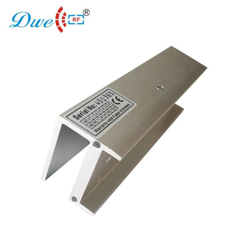 DWE CC RF controle de acesso porta de Segurança bloqueio titular U suporte para porta de vidro framelss