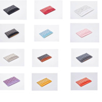 luxury genuine TPU card holder ID Holder for Men Women Credit Passport Card Bag leather covers with box