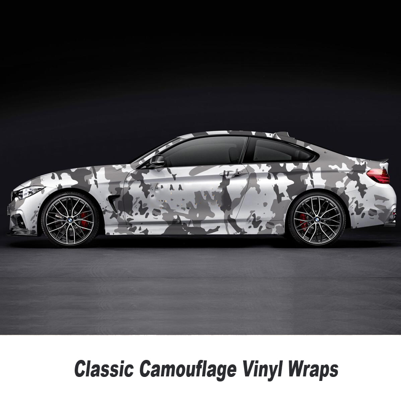 5 10 15 20 25 30m Camouflage Vinyl Wrap For Hood Roof Motocycle Skateboard Decal Camo