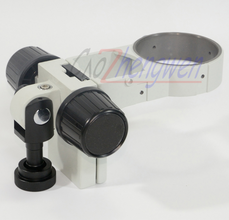 FYSCOPE  Focus Arm A3 with Stereo Zoom Microscope ( the model of A3) 76mm size stereo zoom microscope focus arm a1 76mm ring size holder for lab industry tinocular binocular microscope camera