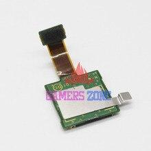 Cartão de memória sd bandeja slot titular cabo flexível substituição para nintendo nova 3ds