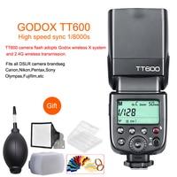 Godox TT600 2.4G Wireless GN60 Master/Slave Camera Flash Speedlite for Canon Nikon Sony Pentax Olympus Fujifilm Samsung Sigma