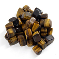 Natural Tiger eye Quartz Crystal stones Points beads 200g/lot Tumbled Stone Chakra Healing Reiki free shipping