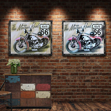 Route 66 Vintage Metal Plate Tin Signs Wall Poster Decals Painting Bar Club Pub Home Decor 1001(905)