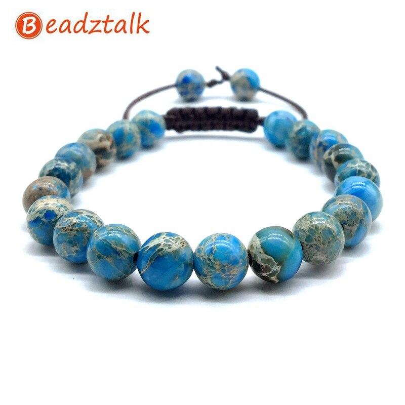 natural stone bead bracelet jasper 8 mm bead