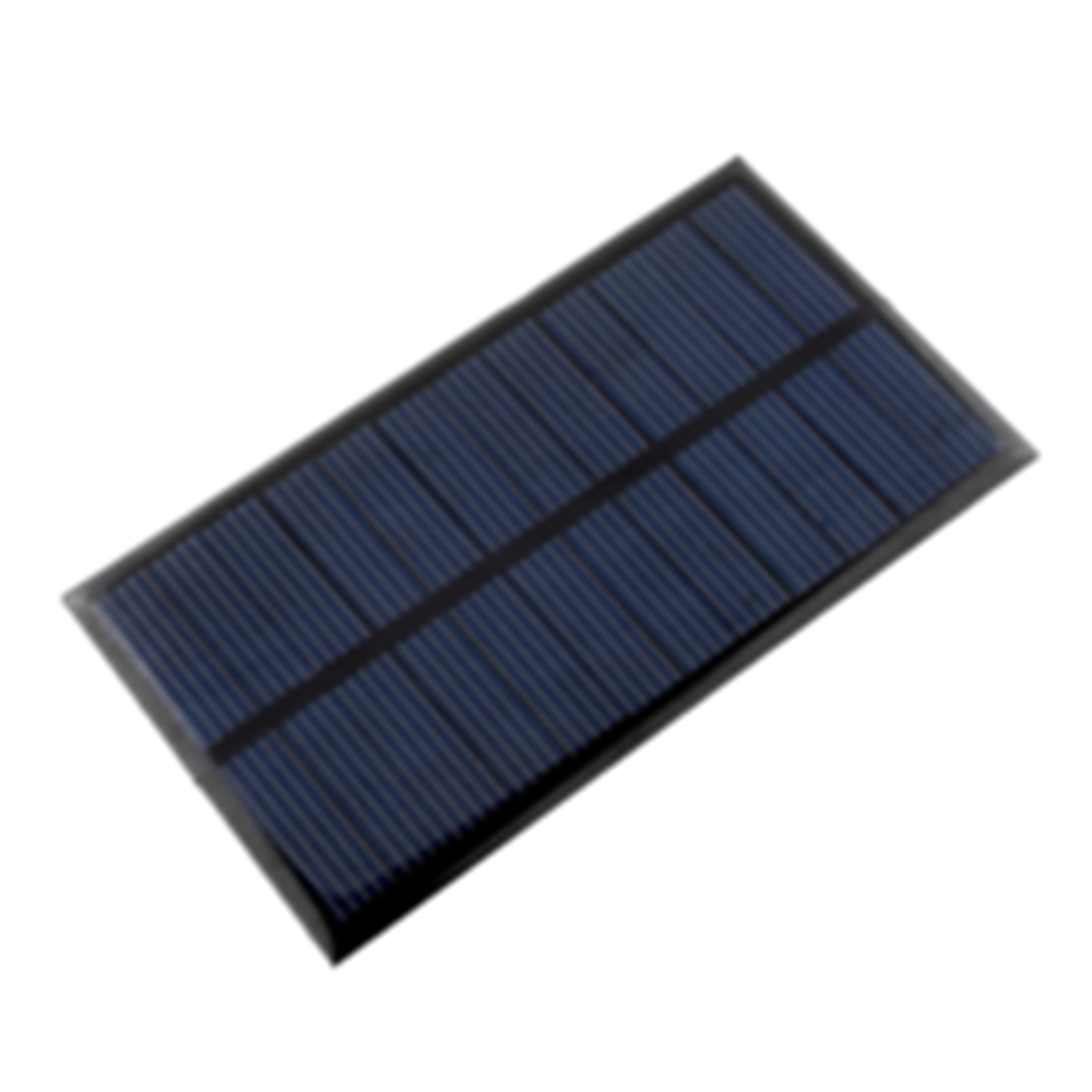Cewaal Solar Panel Portable Mini 6V 1W 110*60mm Sunpower DIY Module Panel System Solar Lamp Battery Phone Charger Solar Cells