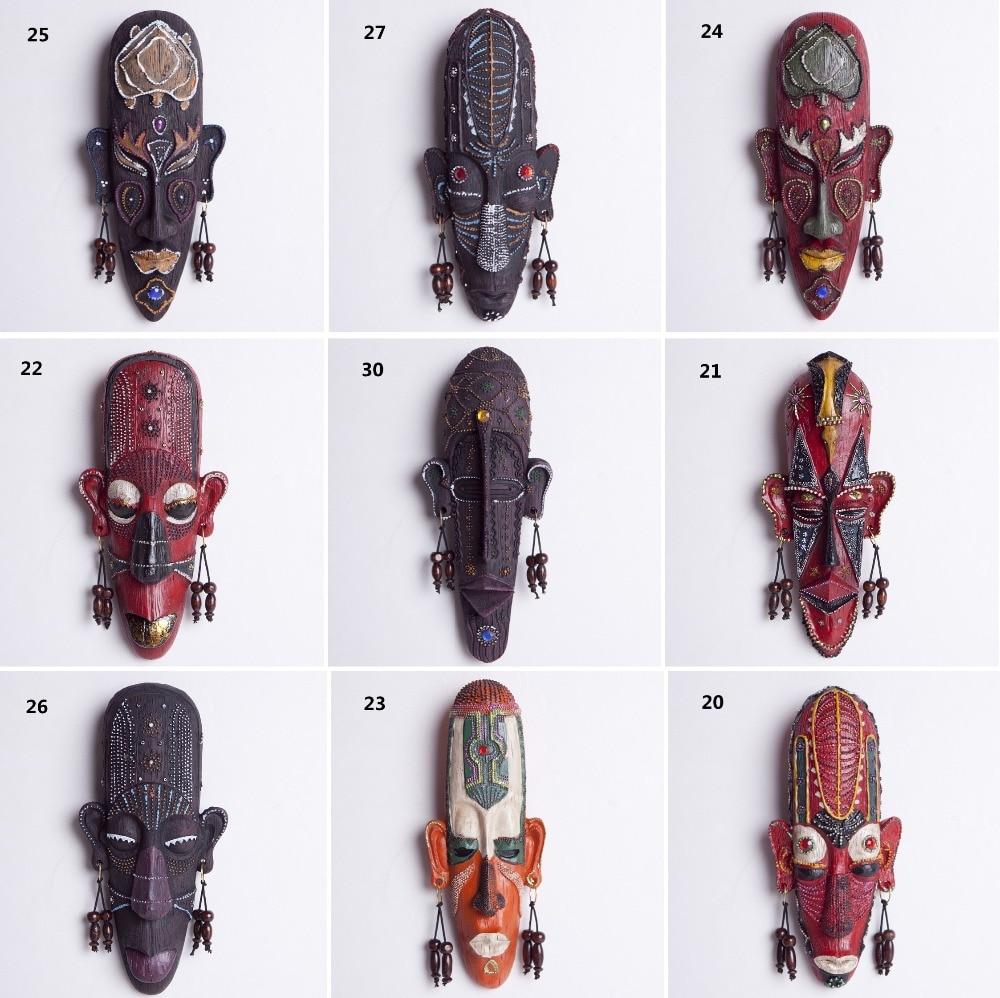 Online kopen wholesale afrikaanse maskers decor uit china ...
