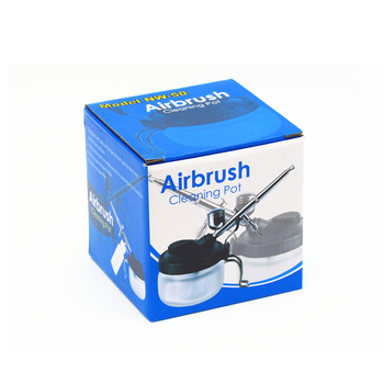 Model Airbrush Cleaning Pot Spraying Tool Accessories Bottles Pigment Glass Collector Combination Hobby Accessory Unisex Model Building Kits TOOLS color: Airbrush CleaningPot