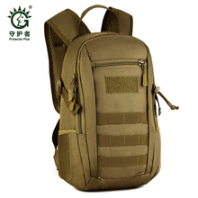Solid Nylon Rucksacks Outdoor 12 L Sport Climbing Camping school bag Trekking Molle travel Bags Military Tactical Backpack