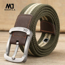 Men's High Quality Canvas Belt