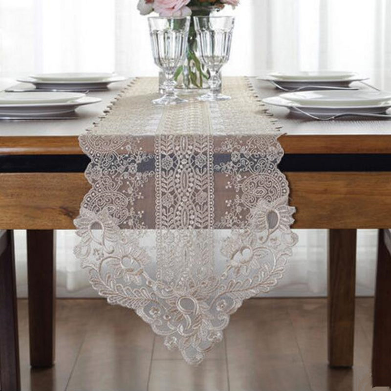 Best Deal 4362 Elegant Korean Table Runner Princess Home