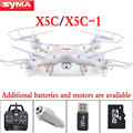 Atualize versão syma x5c x5c-12.4g 2.4g 4ch 6 eixo rc helicóptero com câmera hd controle remoto zangão quadcopter dron brinquedo