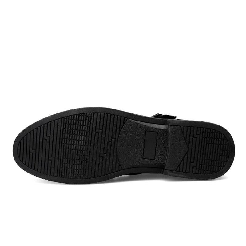 Qualidade Genuíno Oxfords Homens Sapatos Suave Alta De Para Vestido black white up Couro Lace Negócios Casuais Preto HdFAnW
