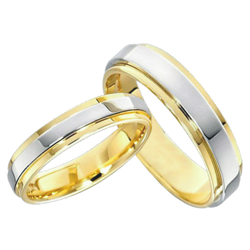 Classic anillos gold color jewelry lovers engagement mens for Promise engagement wedding ring set